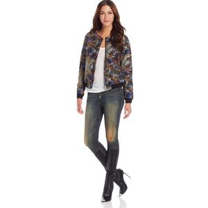 Parker Maverick Dark Floral Jacket In Enchanted S